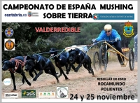 Camp. España Mushing Sobre Tierra